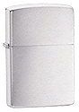 Brushed Chrome Zippo - Click for details