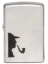 Sherlock Pipe Lighter Zippo - Click for details