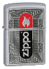 Zippo Black/Red Chrome - Click for details
