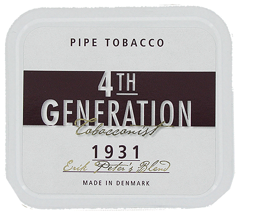 4th Generation 1931 Erik Peter's Blend