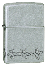 Barbed Wire Zippo - Click for details