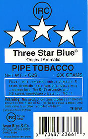 Three Star Blue - Click for details