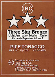 Three Star Bronze - Click for details