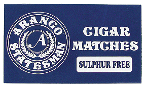 Arango Cigar Matches