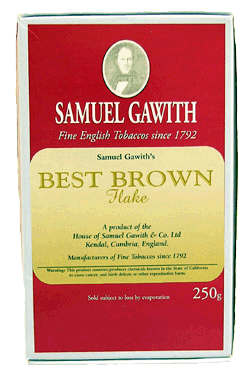 Samuel Gawith Best Brown Flake 250g.
