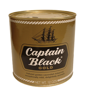 Captain Black Gold Can