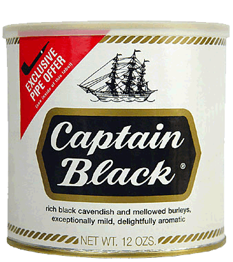 Captain Black White Can