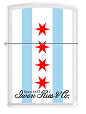 Iwan Ries Chicago Flag Zippo