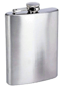 Concord 9 oz. Satin Finish Flask - Click for details