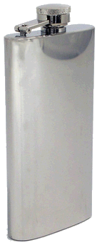 Concord 5.5 oz. Satin Finish Flask