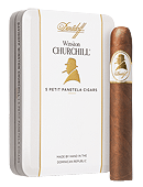 Winston Churchill Panetela Tin of 5 - Click for details
