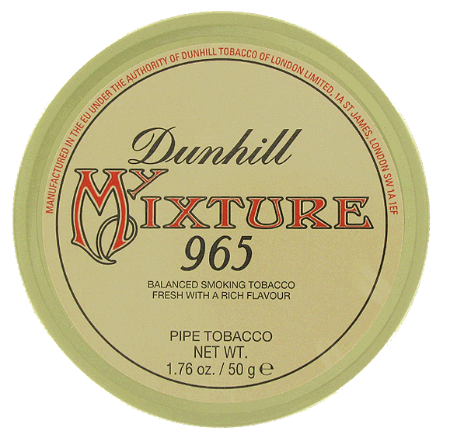 Dunhill My Mixture 965 - Click for details