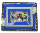 Elie Bleu Alba Blue Cigar Ashtray - Click for details