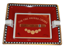 Elie Bleu Medals Red Cigar Ashtray - Click for details
