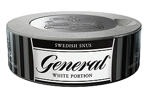 General White Portion Snus
