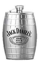 Jack Daniels  Barrell Flask - Click for details