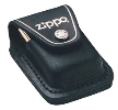 Zippo Black Lighter Pouch w/Clip - Click for details