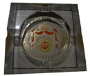 Macanudo Glass Ashtray - Click for details
