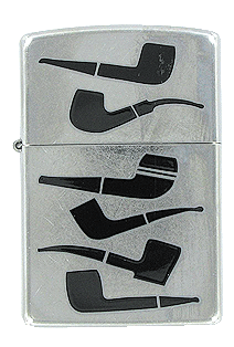 Pipe Shapes Lighter Zippo