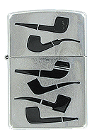 Pipe Shapes Lighter Zippo - Click for details
