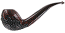 Nording 2013 Hunter Pipe Red Fox Carved - Click for details