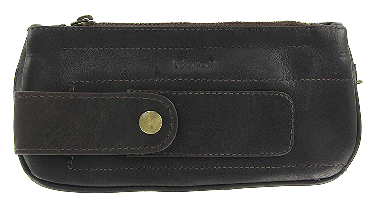 Peterson Deep Brown Combo Pouch