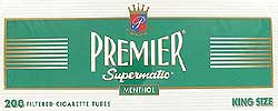 Premier Menthol Filter Tubes - Click for details
