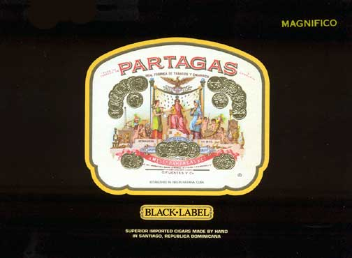 Partagas Black Label Pronto Tin - Click for details
