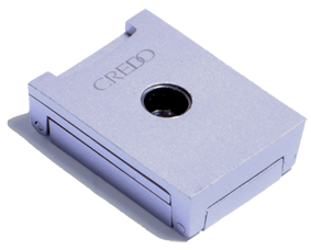 Credo 3 Blade Punch Square Silver