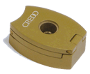Credo 3 Blade Punch Key Bronze - Click for details