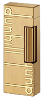 Dunhill Gold Plated Signature Rollagas - Click for details