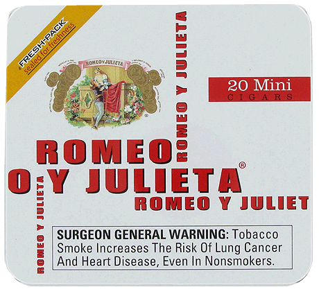 Romeo y Julieta Mini White