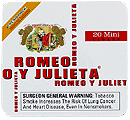 Romeo y Julieta Mini White - Click for details