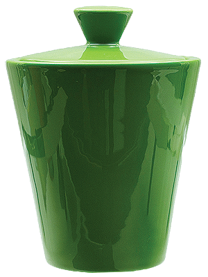 Savinelli Ceramic Green Tobacco Jar - Click for details