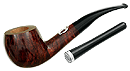 Savinelli Leonardo Vitruvio Smooth Dark Brown - Click for details