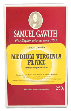 Samuel Gawith Medium Virginia Flake 250g. - Click for details
