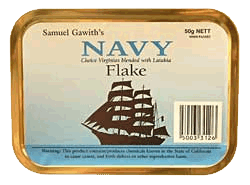 Samuel Gawith Navy Flake 50g. - Click for details