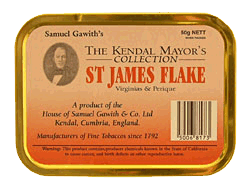 Samuel Gawith St. James Flake 50g. - Click for details
