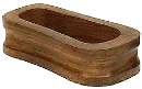 Walnut Calabash/Large Pipe Rest - Click for details
