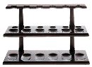 Walnut 12 Pipe Rack - Click for details