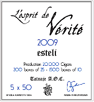 Tatuaje La Verite 2009 Robusto - Click for details