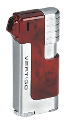 Vertigo Governor Burl  / Silver Pipe Lighter - Click for details