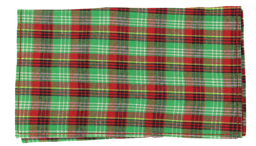 Plaid Roll Up Green - Click for details