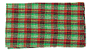 Plaid Roll Up Green