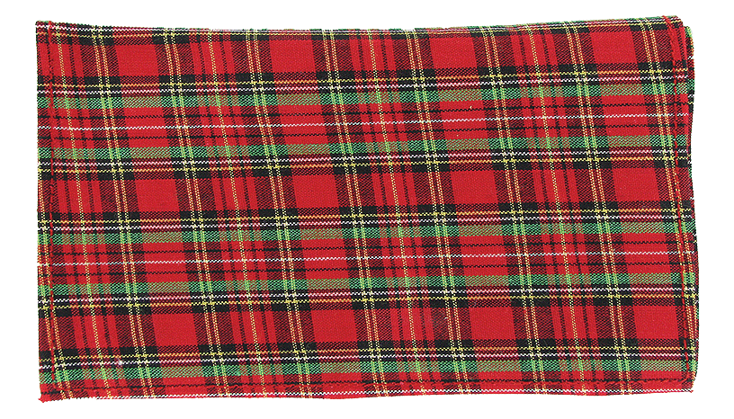 Plaid Roll Up Red - Click for details