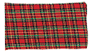Plaid Roll Up Red