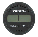 Xikar Digital Hygrometer Round - Click for details