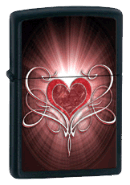 Heart Zippo - Click for details