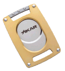Xikar Ultra Slim Cutter Gold - Click for details