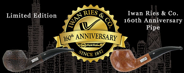 Iwan Ries 160th Anniversary Pipe | Iwan Ries & Co.